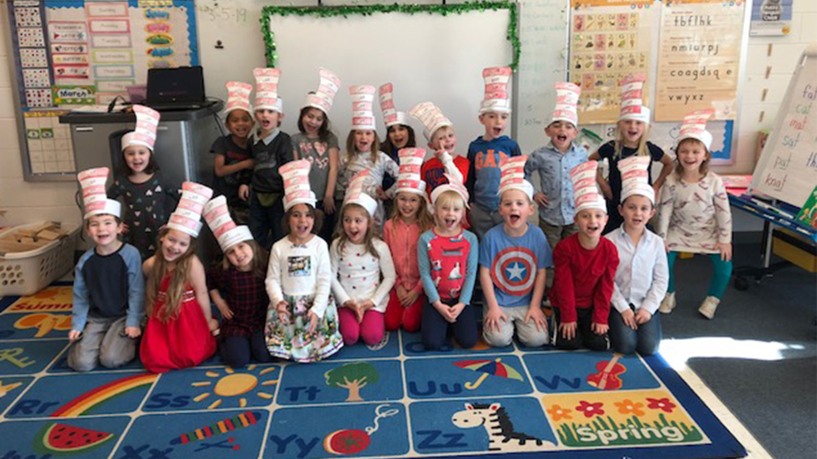 Students Celebrate Reading With Dr. Seuss photo